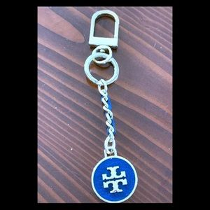 Authentic Tory Burch keychain or purse charm.